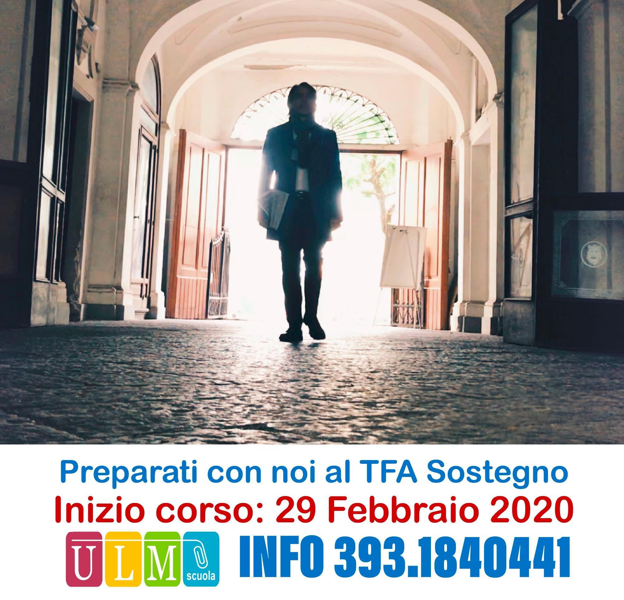 Il 2 e 3 aprile 2020 le selezioni per il V ciclo TFA Sostegno.